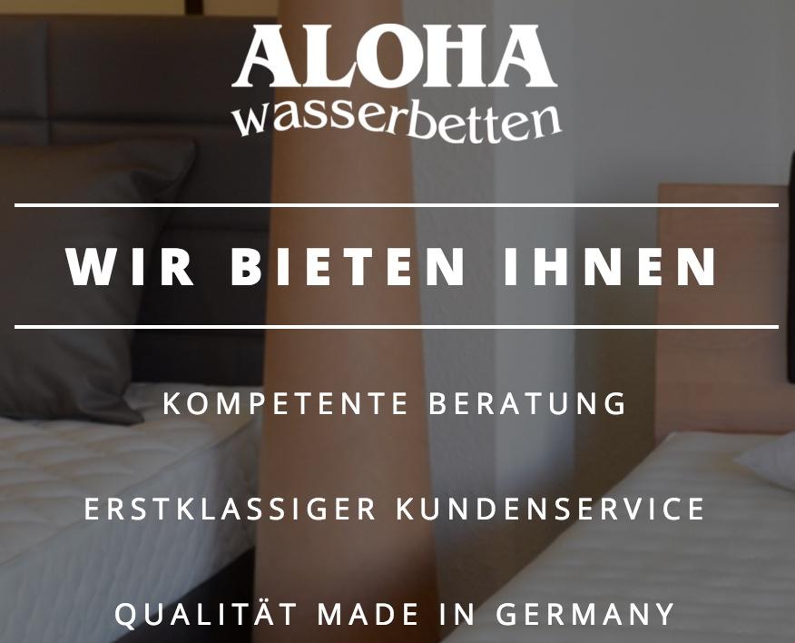 Aloha Wasserbetten - Wasserbetten Lingen - 49809 Lingen, Niedersachsen - Deutschland - Wasserbetten