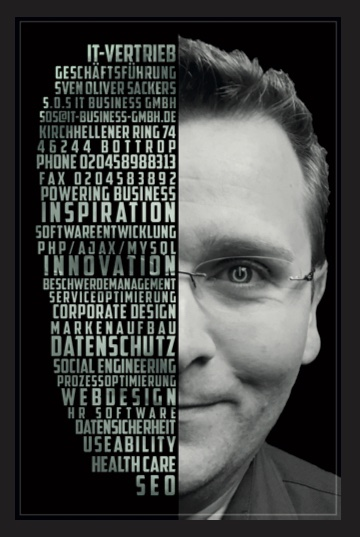 S.O.S. IT business GmbH, Sven Oliver Sackers - Datenschutz Dienstleistungen für Ihr Unternehmen - 46244 Bottrop, Nordrhein-Westfalen - Deutschland - TÜV Nord zert. Datenschutzbeauftragter